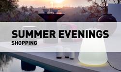 Summer evenings // Shopping