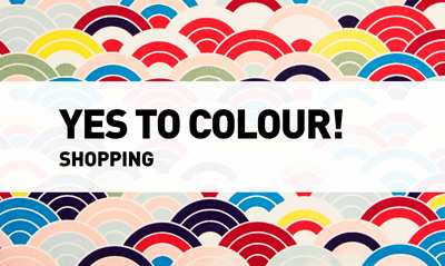 Yes to colors // Shopping