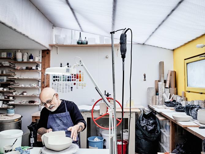 Éric Hibelot, l'atelier des garçons