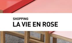 Shopping // La vie en rose