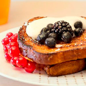 "French toast or ""pain perdu"""