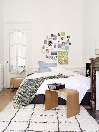Canapé-lit Carl en tissu