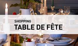Shopping //  Table de fête
