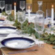 A vegetal table centerpiece