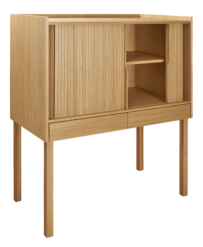 Eclo Large oak writing desk