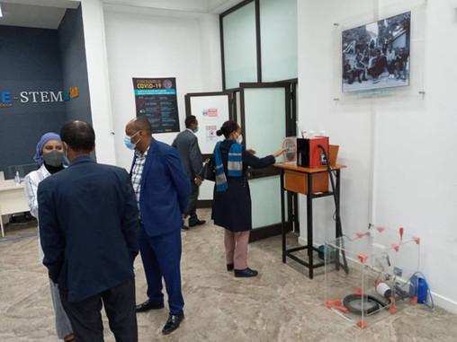 ETHIOPIAN PARLIAMENT MEMBERS VISIT MoE-STEMpower FabLab