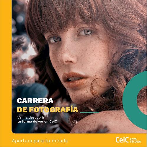 CARRERA DE FOTOGRAFIA - INSCRIPCIÓN
