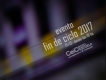 Evento fin de Ciclo CeiC 2017