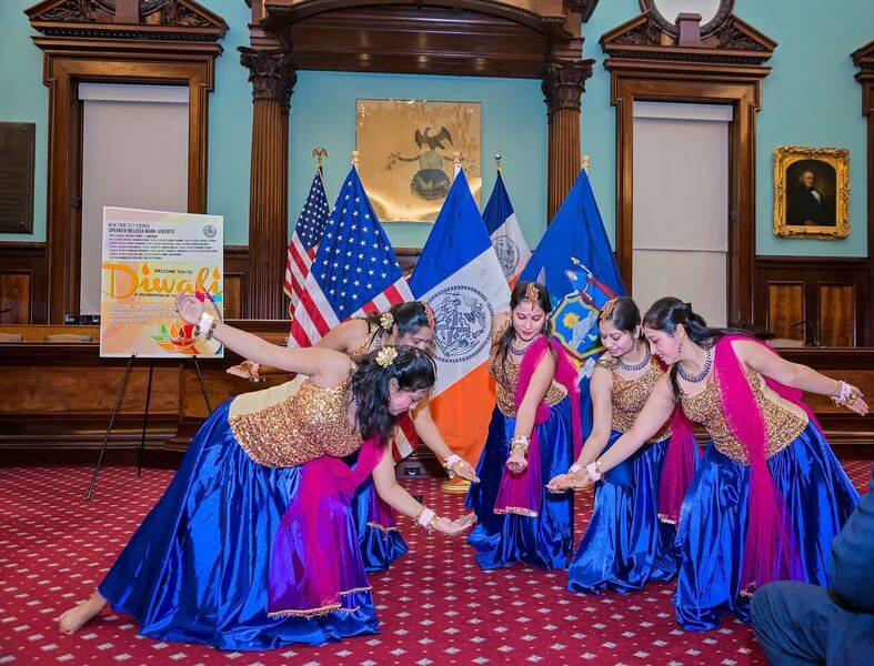 Diwali Celebration at City Hall, NYC