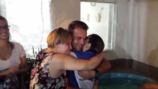 Batismo da Juliana
