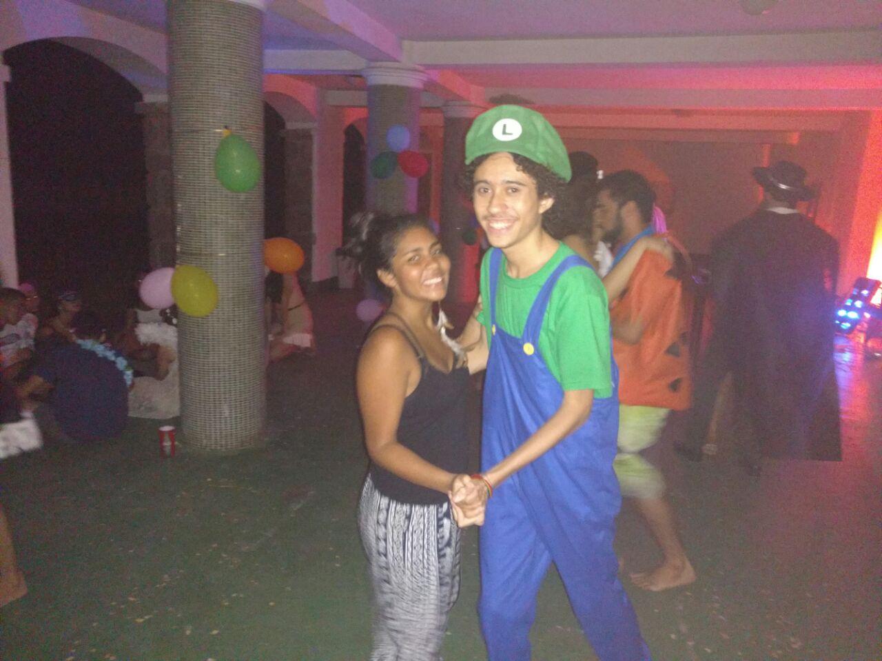 Luigi? Não! É o Vini.