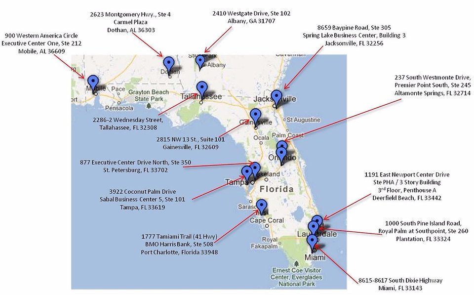 Pearson Vue Test Locations In Florida