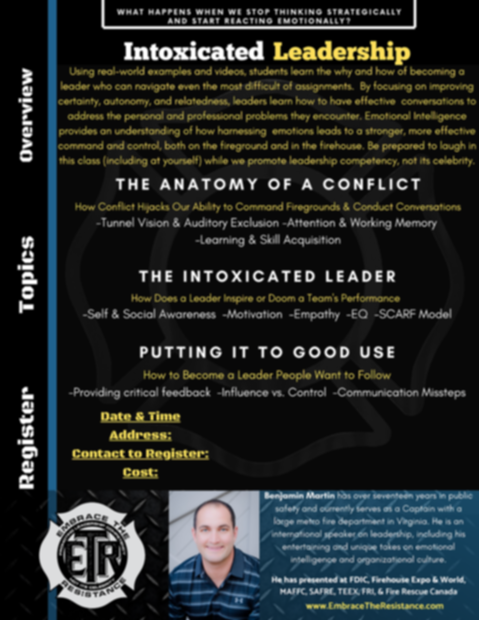 Thinking Strategically vs. Reacting Emot