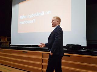 Päivä Helsingin medialukion abien työelämätaitojen parantamiselle