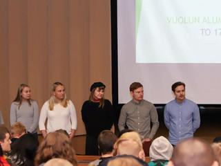 Vuosaaren lukion alumnipäivä järjestettiin 17.1.2019