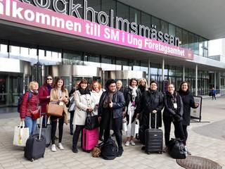 Tunne Työ benchmarkingmatkalla Tukholman Ung Företagsamhet-messuilla