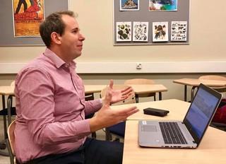 Lahden kaupungin lukioiden Tunne työ –suunnittele ura -hankkeen toimintaa  ja tapahtumia vuoden 2018