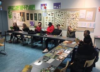 Vuosaaren lukion psykologian tunnilla harjoiteltiin tulevaisuuden työelämätaitoja