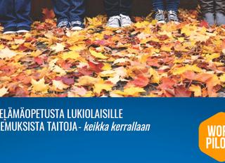 Helsingin kuvataidelukio ja Work Pilots kehittämään yhdessä lukiolaisten työelämätaitoja