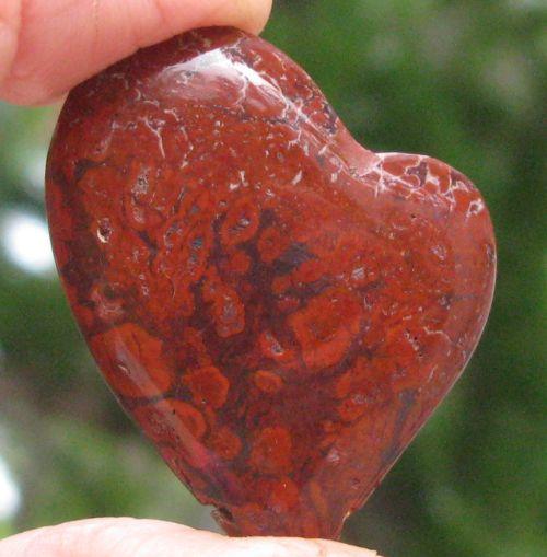 Poppy Jasper Heart