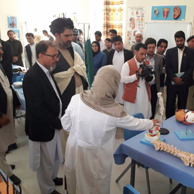 Inauguration of the Nursing and Midwifery schools in Nimroz
