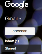 How to clean your inbox- starred