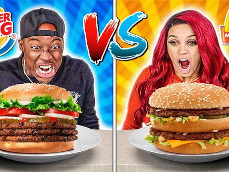 Why Is the King of Burgers Perceived as Distant and Aggressive?