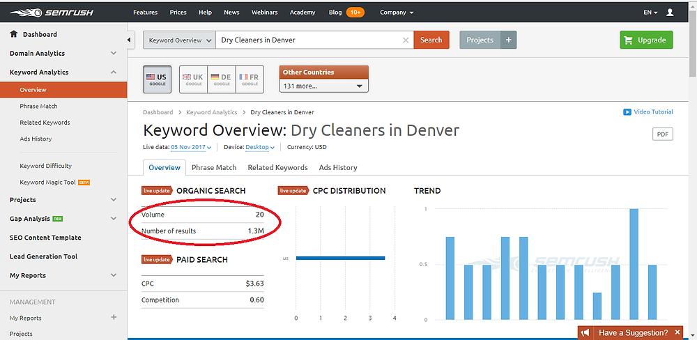 Dry Cleaners in Denver screenshot