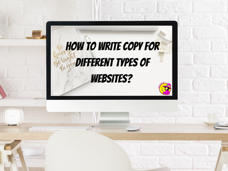 How To Write Content for Different Websites?