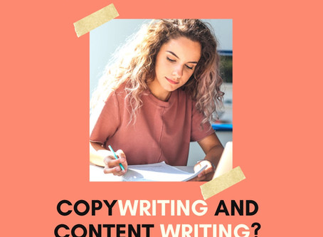 What's the Difference between Copywriting and Content Writing? (and the skills you need for either)