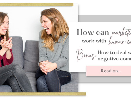 How Can a Marketer Work with Human Emotions? (Bonus: How to deal with negative comments?)