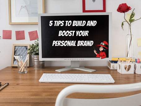 5 Tips to Build and Boost Your Personal Brand