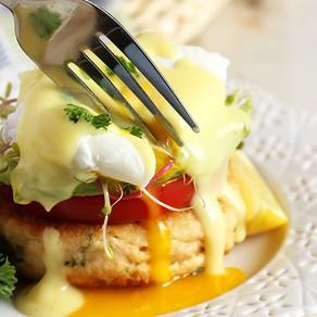 Pacific Crown California-Style Tuna Eggs Benedict