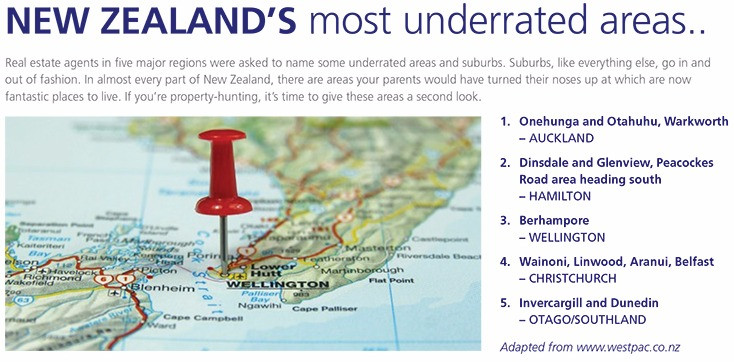 NEW ZEALAND'S most underrated areas..