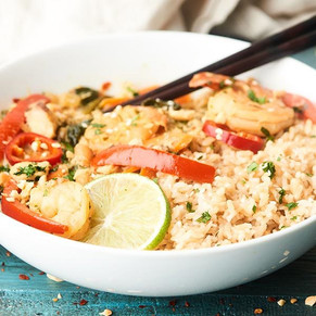 Pacific Crown Thai Seafood Curry