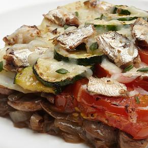 Pacific Crown Vegetable Sardine Cheese Bake