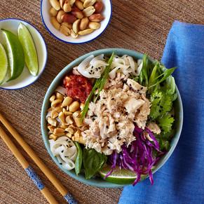 Pacific Crown Asian Tuna Noodle Salad