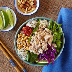 Pacific Crown Asian Tuna Noodle Salad