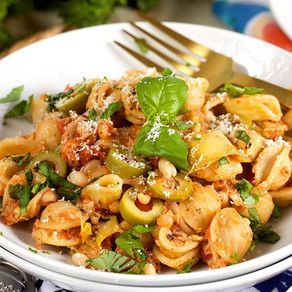 Pacific Crown One Pot Mediterranean Tuna Pasta Skillet