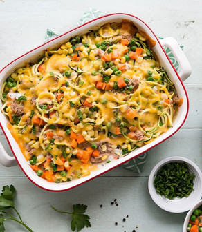 Pacific Crown Garden Zoodles Tuna Casserole