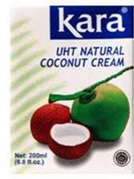 Kara long life cocnut cream 200ml