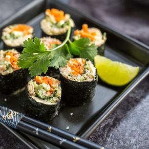 Pacific Crown DIY Tuna Sushi