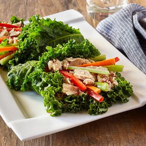 Pacific Crown Tuna Kale Rolls