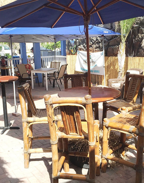 Outdoor Patio Seating and Table Service