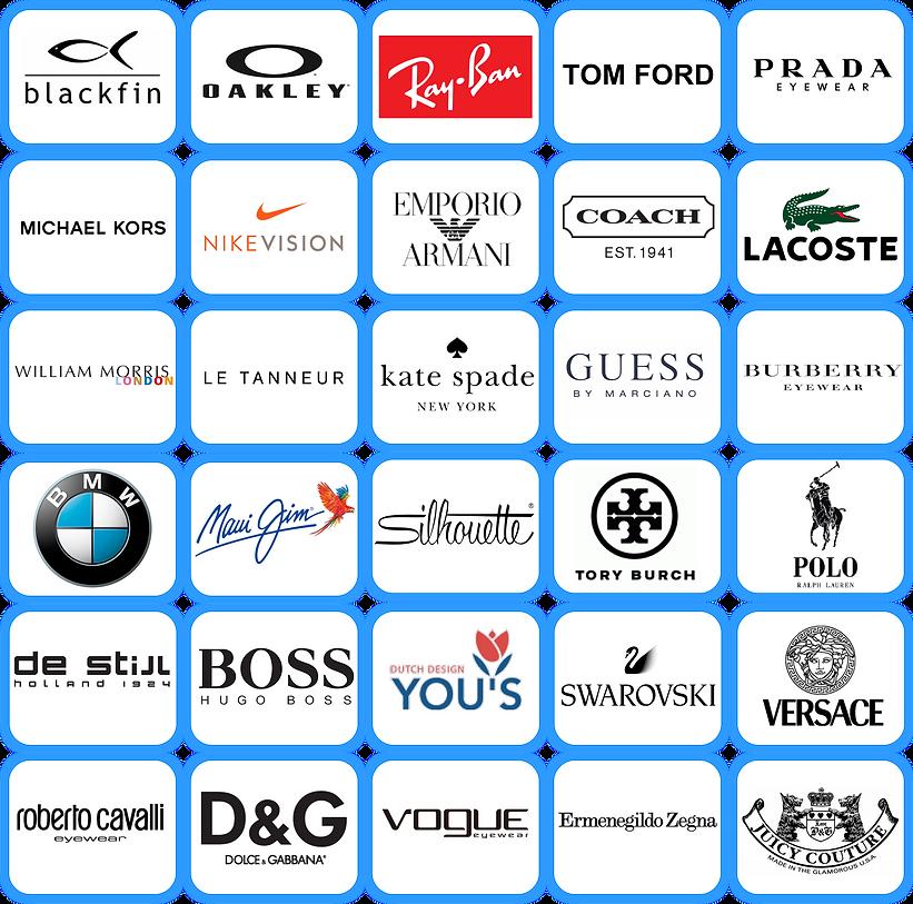 Brand name eyewear
