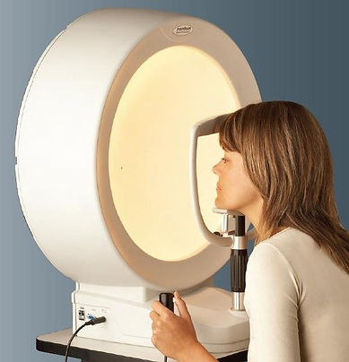 Visual Field Testing Glaucoma