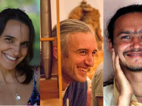 Kirtan mit Ganga Puri, Renee Sunbird &  Boris<br>(Sonntag, 14. Juli, 19h)
