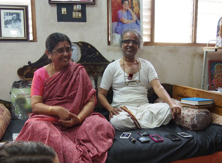 Workshop: The Yogasutras of Patanjali with Jayashree & Narasimhan (8. - 10. November 2019)