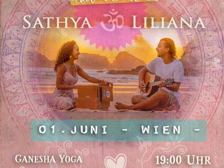 KIRTAN mit Sathya und Liliana <br>(Sa, 1. Juni, 19.00)