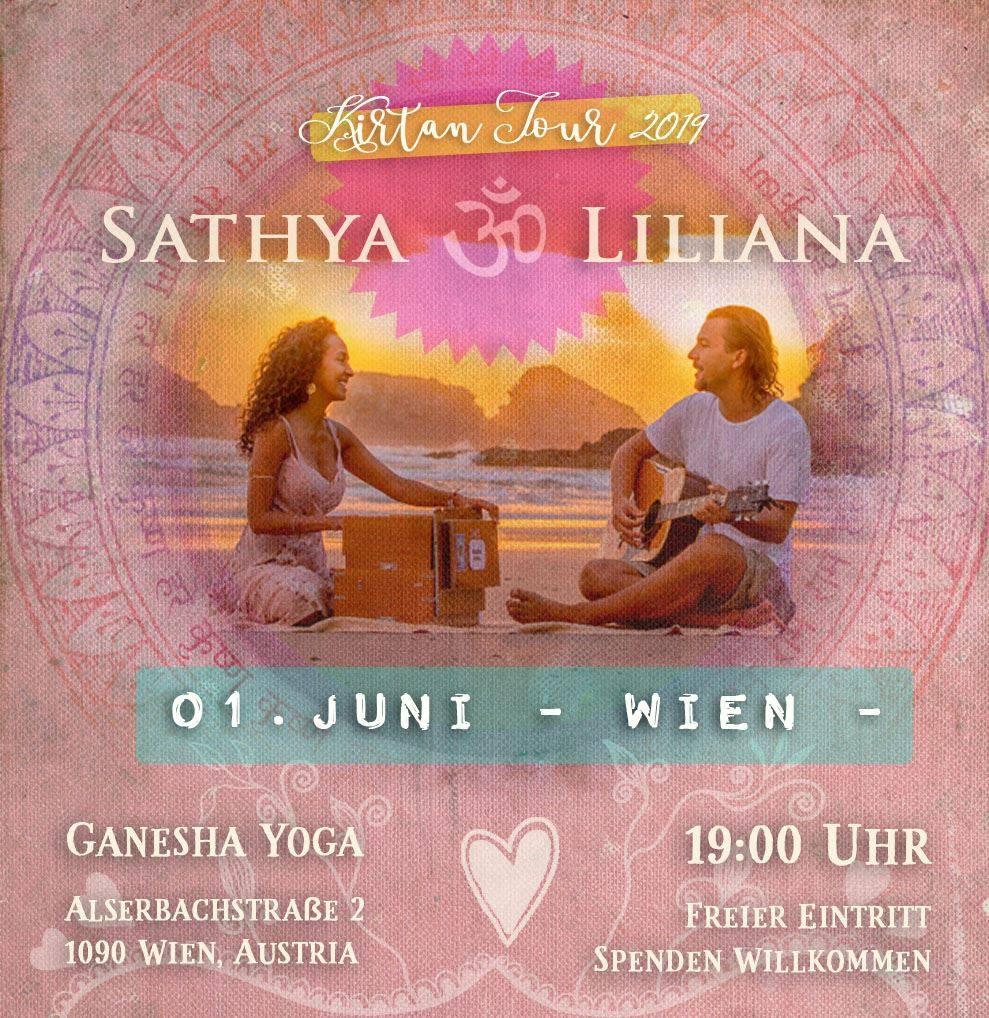 Kirtan mit Sathya und Liliana